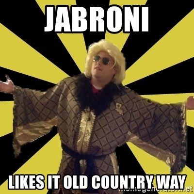 Party Foul Flair - jabroni likes it old country way