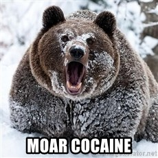 Cocaine Bear - moar cocaine