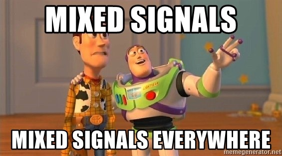 Consequences Toy Story - Mixed Signals Mixed Signals everywhere
