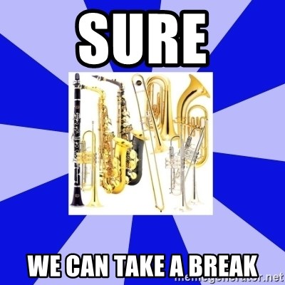 Things Never Heard In Band - Sure We can take a break