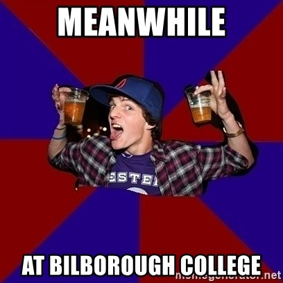 Sunny Student - Meanwhile at bilborough college