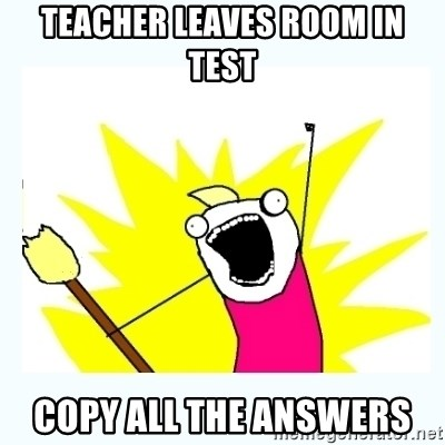 All the things - Teacher LEAVES ROOM IN TEST COPY ALL THE ANSWERS