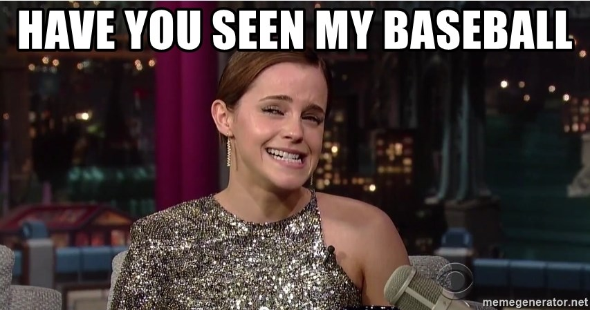 Emma Watson Trollface - Have you seen my baseball