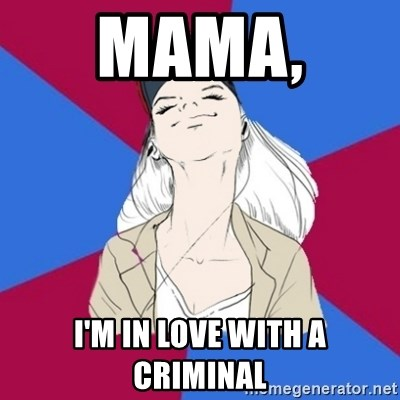 Jim Moriarty fan  - Mama,  I'M IN LOVE WITH A CRIMINAL