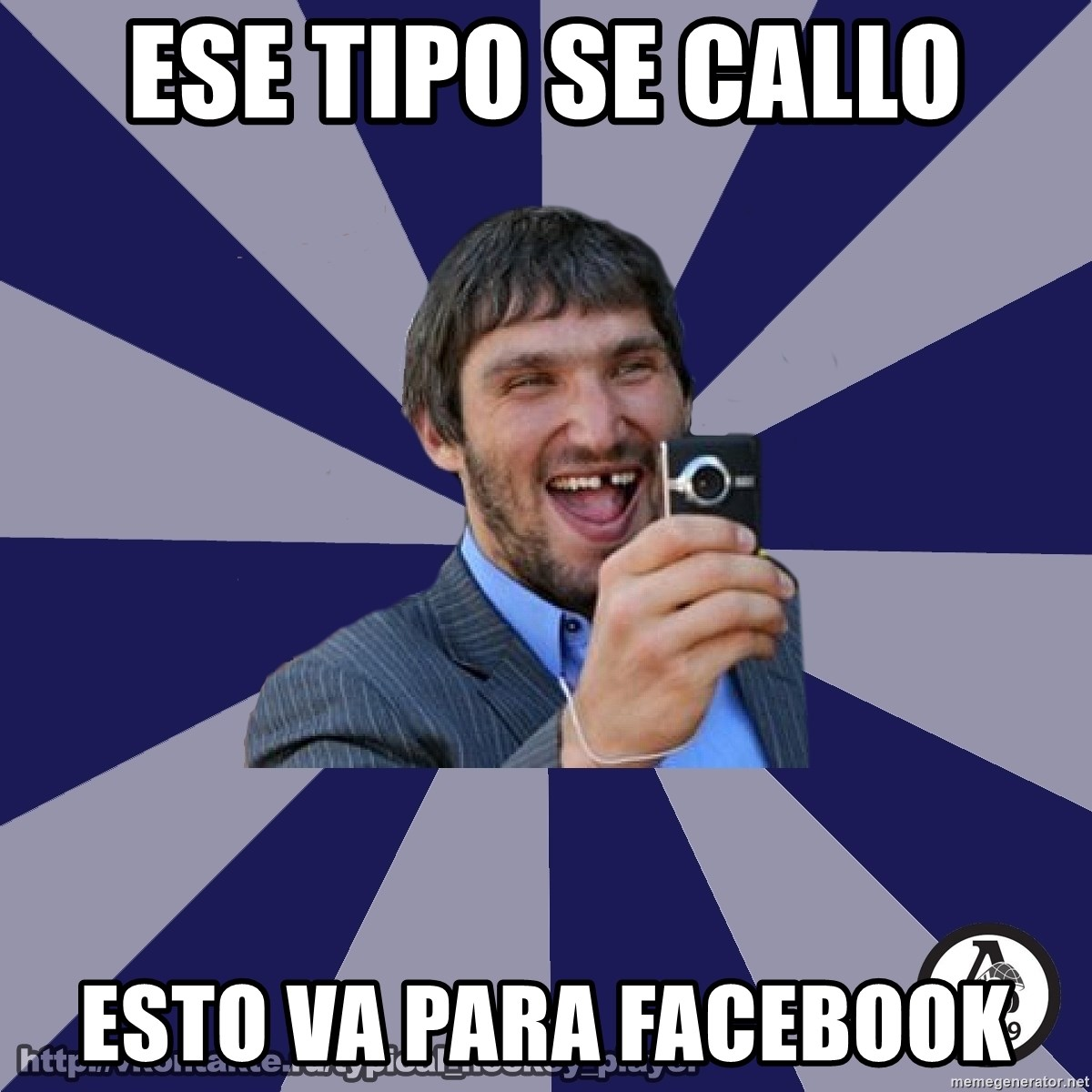 typical_hockey_player - ese tipo se callo esto va para facebook