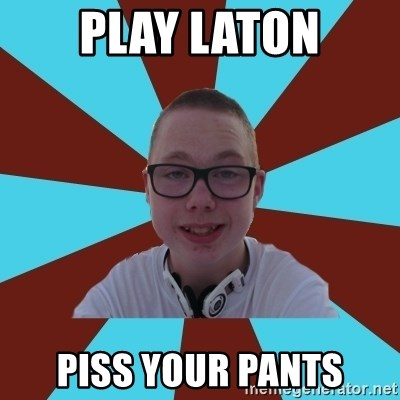 Tamas Weed Abuser - play laton piss your pants