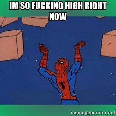 60's spiderman - im so fucking high right now