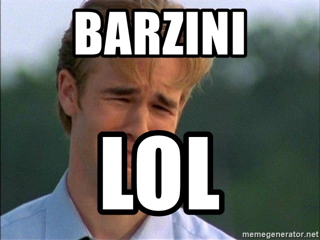 Crying Man - Barzini lol