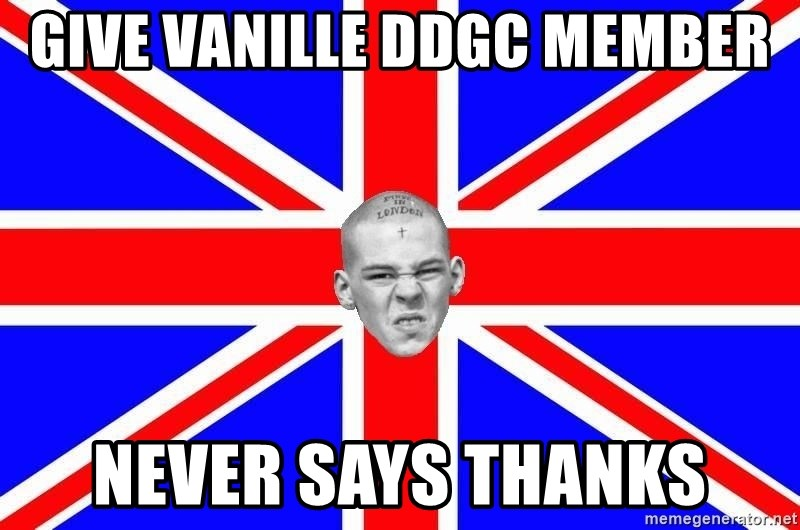 Mad Skin - Give vanille ddgc member never says thanks