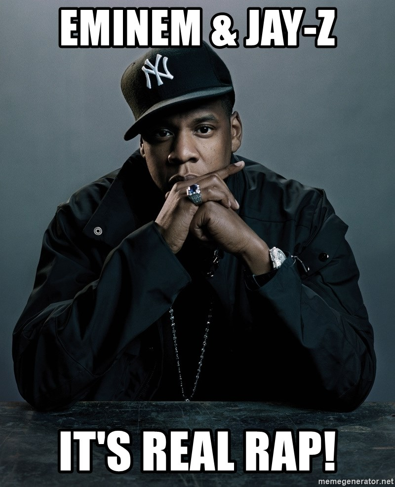 Jay Z problem - Eminem & Jay-Z It's Real Rap!