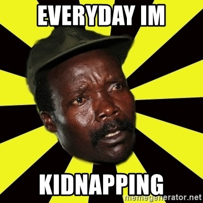 KONY THE PIMP - EVERYDAY IM KIDNAPPING