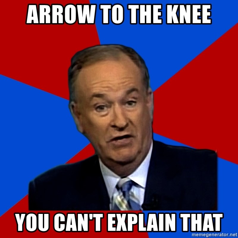 Bill O'Reilly Proves God - arrow to the knee you can't explain that