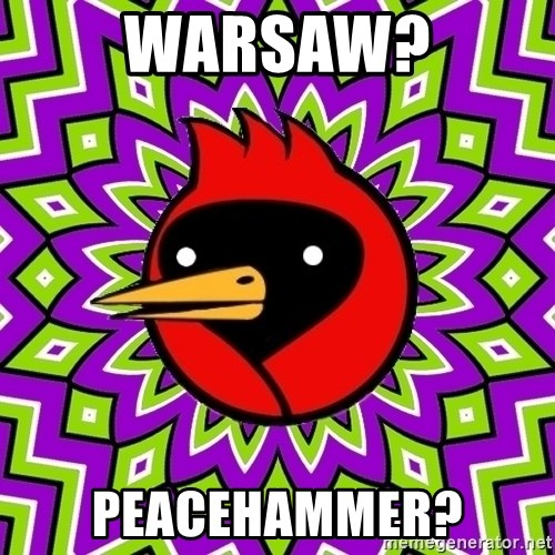Omsk Crow - WARSAW? PEACEHAMMER?