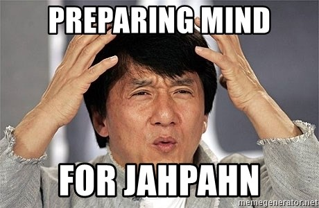 Jackie Chan - preparing mind for jahpahn