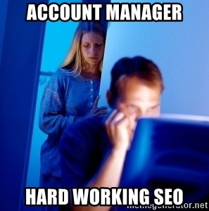 Internet Husband - ACCOUNT MANAGER HARD WORKING SEO