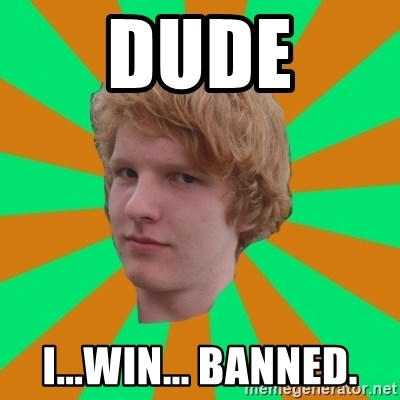 Scott Leslie - dude i...Win... banned.