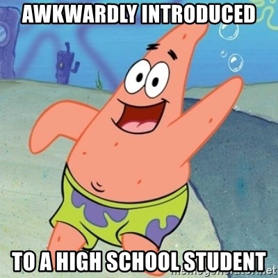 Panxo Po wn - awkwardly introduced to a high school student