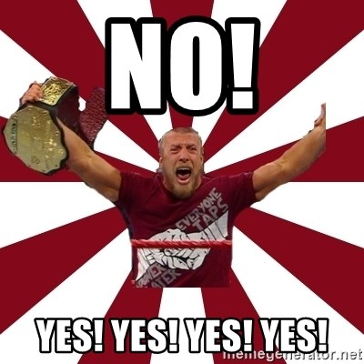 Daniel Bryan - NO! YES! YES! YES! YES!