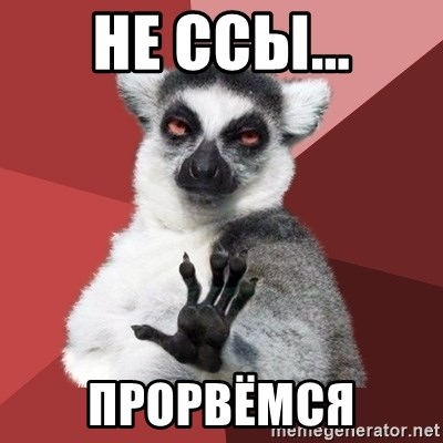 Chill Out Lemur - не ссы... прорвёмся