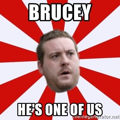 Mackem Logic - BRUCEY HE'S ONE OF US