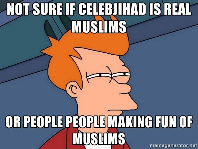 Is Celeb Jihad Real