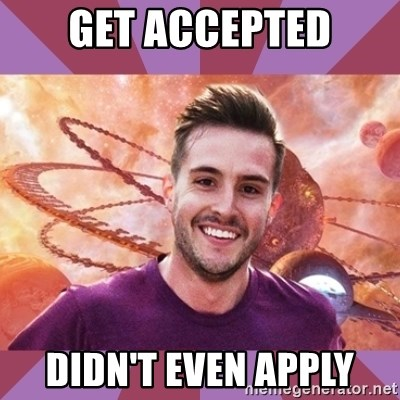 Ridiculously Photogenic Sacrosanct - GET ACCEPTED DIDN'T EVEN APPLY