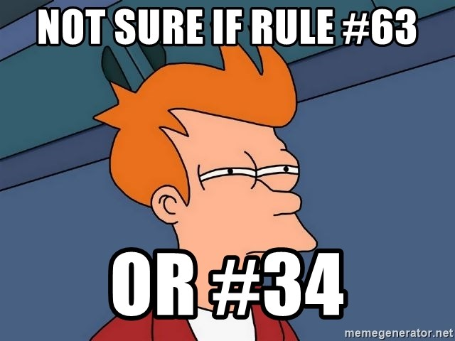 Futurama Fry - Not sure if rule #63 or #34