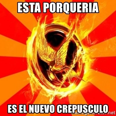 Typical fan of the hunger games - Esta porqueria es el nuevo crepusculo