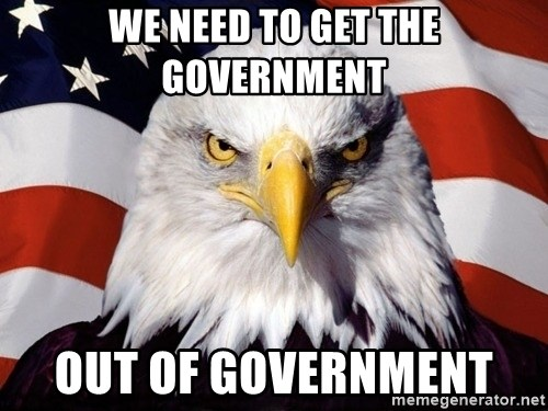 American Pride Eagle - We need to get the government out of government