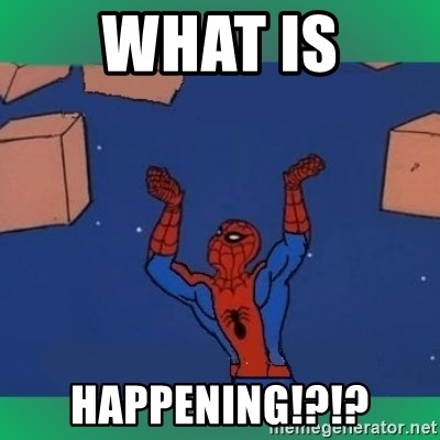 60's spiderman - what is happenIng!?!?