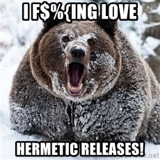 Cocaine Bear - I F$%{ING LOVE HERMETIC RELEASES!