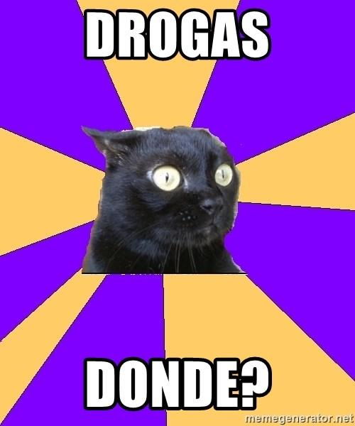 Anxiety Cat - DROGAS DONDE?