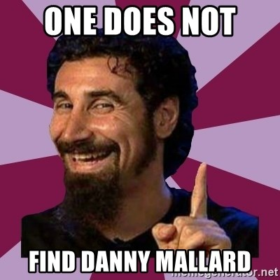 Serj Tankian - One does not  find danny mallard