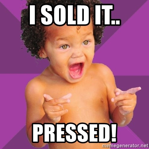 Baby $wag - i Sold it.. Pressed!