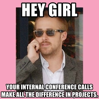 Hey Girl - Hey Girl your internal conference calls make all the difference in projects.