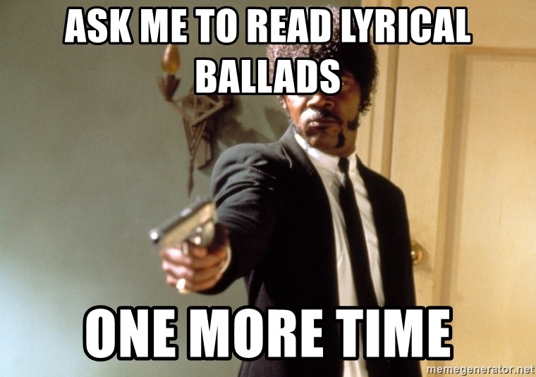 Samuel L Jackson - Ask me to read Lyrical Ballads One More time