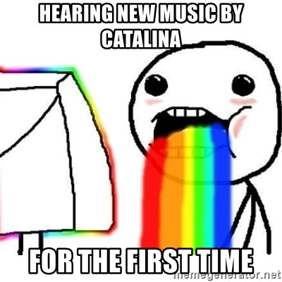 Puking Rainbows - HEARING NEW MUSIC BY CATALINA FOR THE FIRST TIME