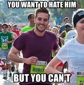 Ridiculously photogenic guy (Zeddie) - you want to hate him but you can't