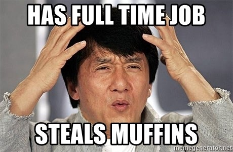 Jackie Chan - Has Full Time Job Steals Muffins