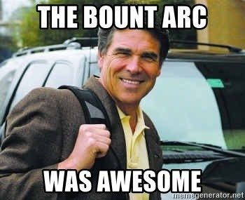 Rick Perry - The Bount Arc Was Awesome