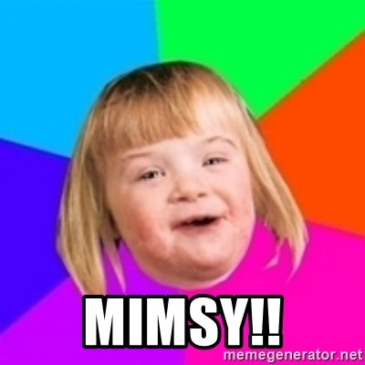 I can count to potato - mimsy!!