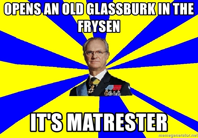 swedishproblems.tumblr.com - Opens an old glassburk in the frysen It's matrester