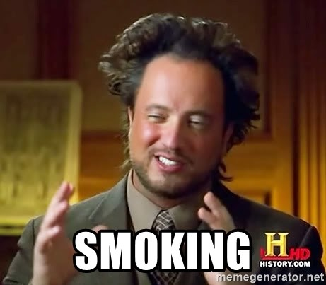 Ancient Aliens - Smoking