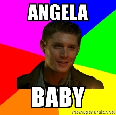 glorious Dean - angela baby