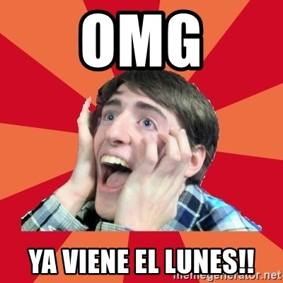Super Excited - OMG YA VIENE EL LUNES!!