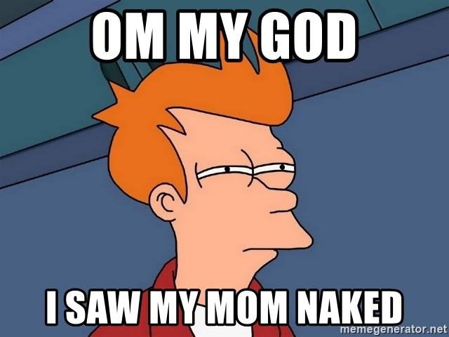 I saw my mom naked picture 91