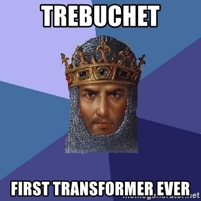 Age Of Empires - Trebuchet first transformer ever