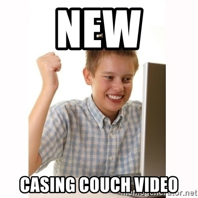 Computer kid - New casing couch video
