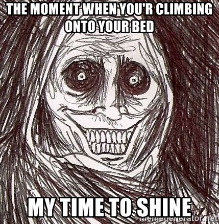 Shadowlurker - The Moment When You'r Climbing Onto Your Bed My Time To Shine