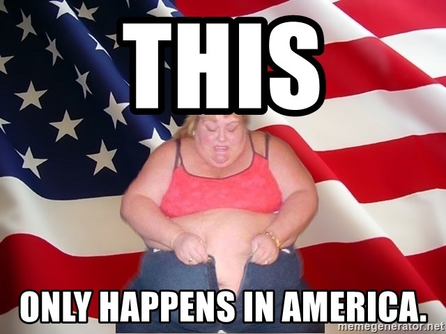 Asinine America - This Only happens in america.